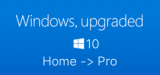 Windows 10 Home to Pro Upgrade